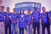 Abhishek Bachchan unveils Chennaiyin FC jersey