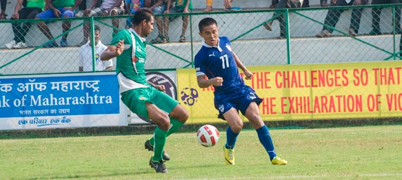 Durand Cup: Sunil Chhetri (Bengaluru FC) in action against Salgaocar FC