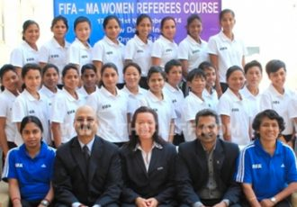 FIFA Course for India's Women Referees