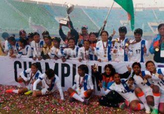 India retain SAFF Women's Championship