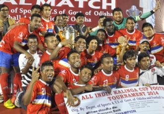 ONGC down Kalighat MS to win the Kalinga Cup 2014