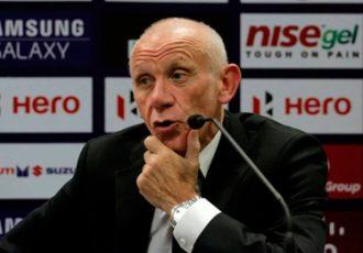 Mumbai City FC coach Peter Reid
