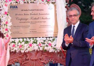 AFC President Sheikh Salman inaugurates The Cooperage Stadium
