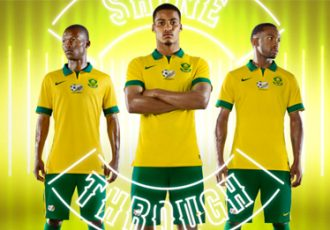 South Africa and Nike unveil national team kits