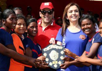 Nita Ambani launches #grassroots football movement