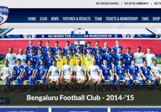 Bengaluru FC launch new website