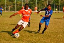 Anthony Wolfe in action for Sporting Clube de Goa
