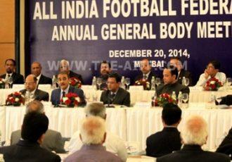 AIFF meets for AGM in Mumbai