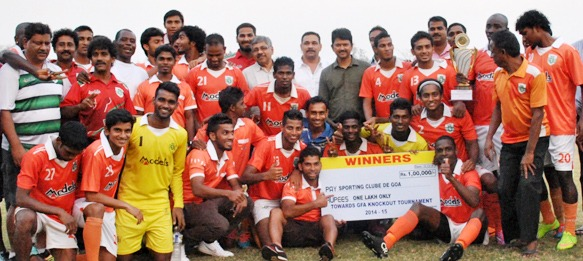Sporting Clube de Goa - GFA Knock-Out Cup Champions