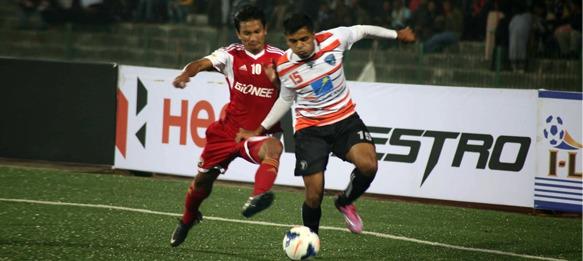 I-League: Shillong Lajong FC v Mumbai FC