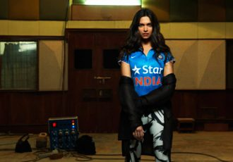 Deepika Padukone sports new Nike Team India Cricket jersey