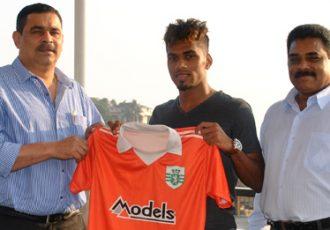Brandon Fernandes signs for Sporting Clube de Goa