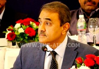 Praful Patel, President, All India Football Federation (AIFF)