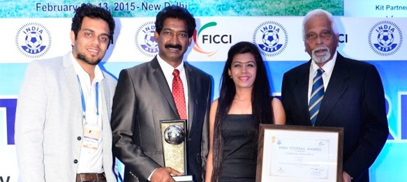 WIFA awarded the 2014 AIFF Best Grassroots Development Programme Award