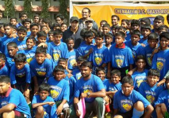 Chennaiyin FC conducts Grassroots Festival at St. Michael's Academy