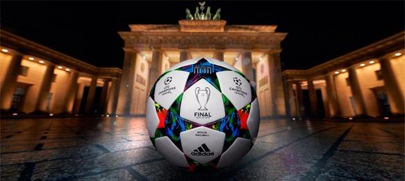 UEFA Champions League Finale Berlin match ball