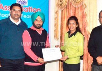 AIFF and Punjab FA conduct Grassroot Session in Hoshiarpur