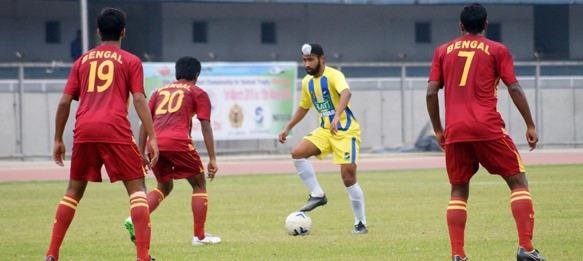 Santosh Trophy: West Bengal v Punjab