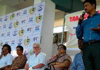 Goa Football Association organise a Women's Football Festival