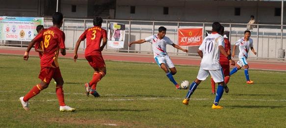 Santosh Trophy: West Bengal v Services