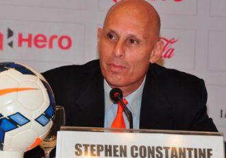 India coach Stephen Constantine