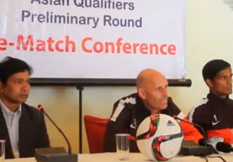 Press Conference with Stephen Constantine & Subrata Pal
