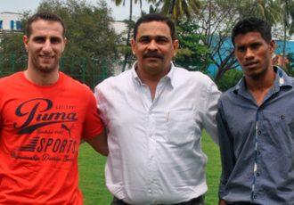 Mahmoud Al-Amna, Peter Vaz and Marcus Mascarenhas