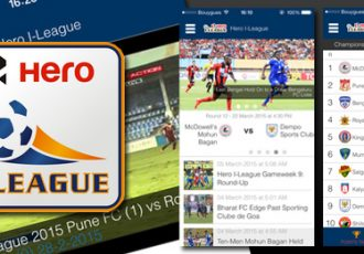 Official I-League smartphone app launched for Android and iOS