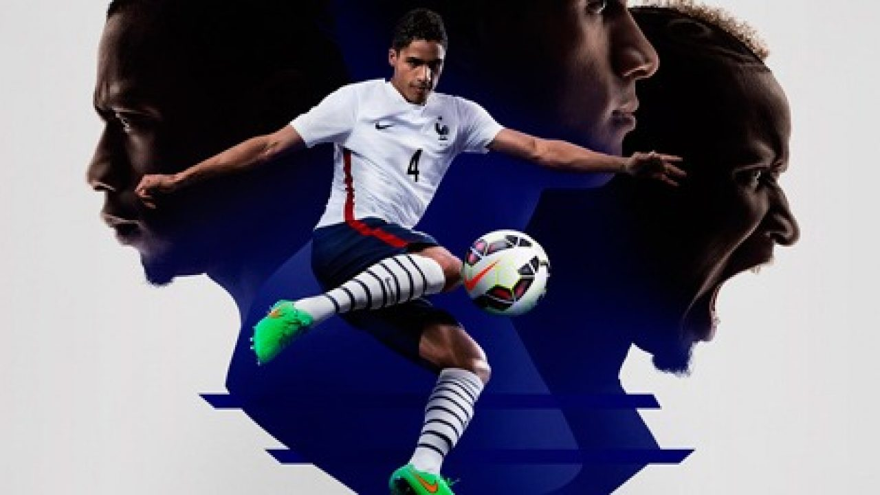 0100a931d French Football Federation and Nike present 2015-16 away kit » The ...
