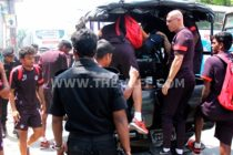 Fire scare in Indian team bus in Dhaka