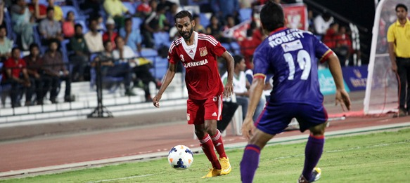 Pune FC defender Mathew Gonsalves