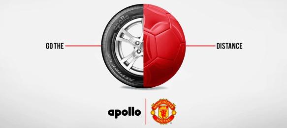 Apollo – Manchester United tyre