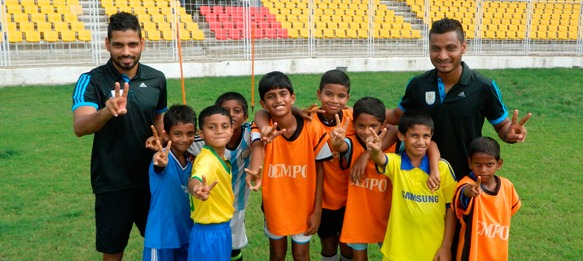 Dempo SC's The Young Eagles Grassroots Festival