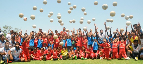 Pune FC celebrates AFC Grassroots Day