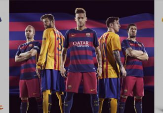 Nike and FC Barcelona unveil bold new home and away kits for 2015-16