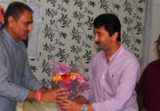 Praful Patel felicitated by Western India Football Association