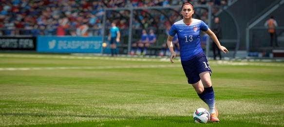 Alex Morgan in EA SPORTS FIFA 16