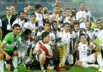 2014-15 I-League Champions Mohun Bagan AC
