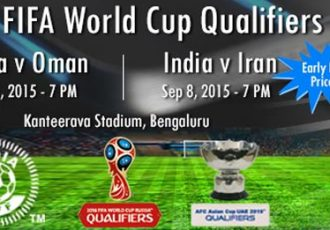Tickets for India v Oman FIFA World Cup qualifier go on sale online at kyazoonga.com