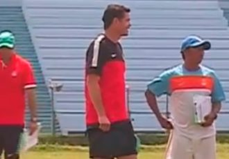 Nicolai Adam scouting in West Bengal for 2017 FIFA U-17 World Cup