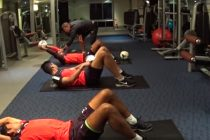 Rogerio Ramos training Indian national team goalkeepers