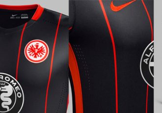 Nike creates clean and modern look Eintracht Frankfurt Home Kit