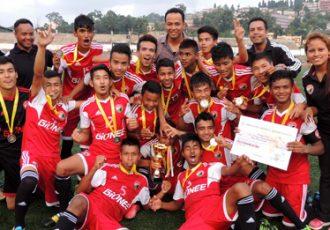 Shillong Lajong FC U-19 team