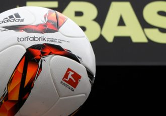 Bundesliga match ball TORFABRIK