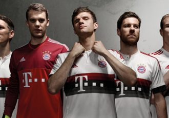 FC Bayern Munich's new away kit designed in modern streetwear style
