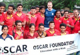Netherlands international Ron Vlaar in India