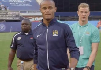 #GlobalCityFans: Hart, Kompany & Silva take over New York