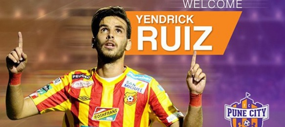 FC Pune City sign Costa Rican striker Yendrick Ruiz
