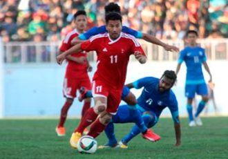 India v Nepal - International Football