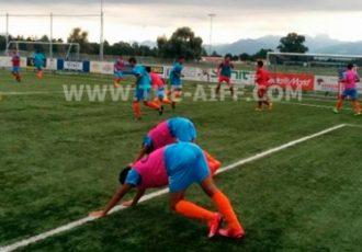 India U-16 boys begin training in Germany